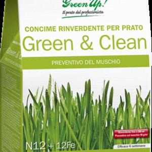 GREEN&CLEAN - Per rinverdire il prato e prevenire il muschio